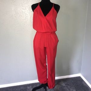 GUESS - Red jumpsuit